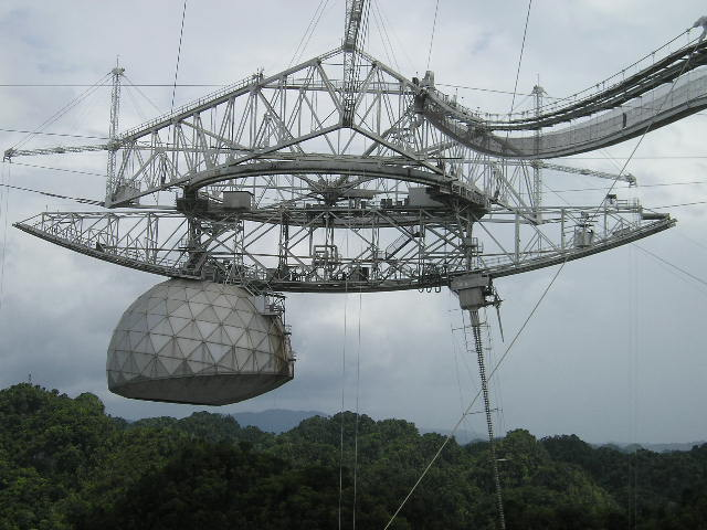 Picture 2 Of The Worlds Largest Satellite Dish At Arecibo Puerto Rico