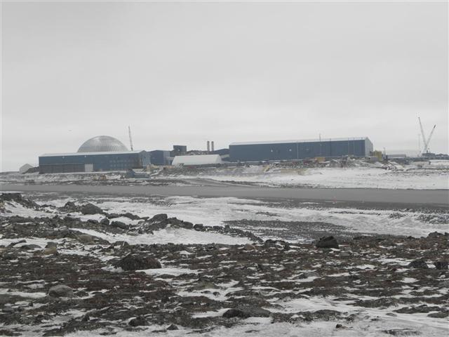 Satellite dish service by Mark Erney for Baker Lake, Nunavut, Canada Gold Mining Camp Picture 26