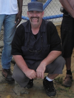Picture of Mark Erney in Annai, Guyana 2013