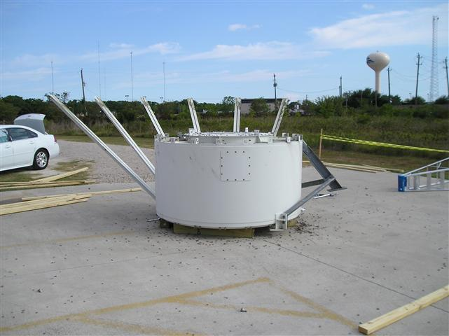 Satellite Earth Station Teleport Removal Dish Shipping Pictures Images by Mark Erney 13
