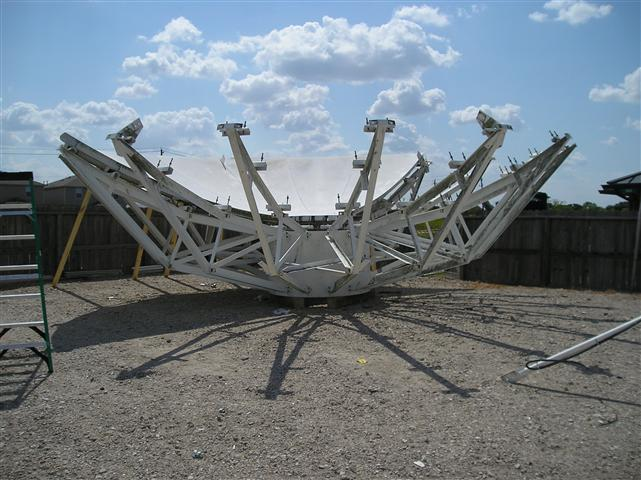 Satellite Earth Station Teleport Removal Dish Shipping Pictures Images by Mark Erney 15