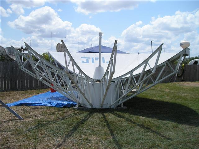 Satellite Earth Station Teleport Removal Dish Shipping Pictures Images by Mark Erney 18