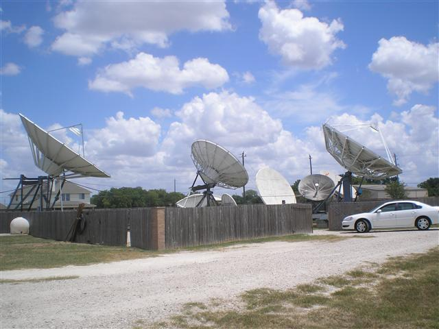 Satellite Earth Station Teleport Removal Dish Shipping Pictures Images by Mark Erney 3
