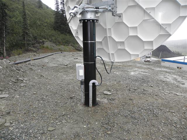 3.8 Meter Satellite Dish Installation Yukon Territory, Canada Pictures and Images Pic 5