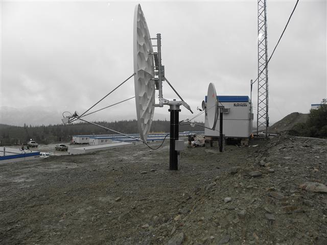 3.8 Meter Satellite Dish Installation Yukon Territory, Canada Pictures and Images Pic 6